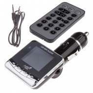 Modulator FM Tuadia ZOOM, functie MP3 player, ecran LCD, slot SDHC, USB, Telecomanda, Line-in