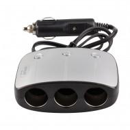 Multipriza auto AVLink MPB3USB2, 3 prize bricheta auto, 2 iesiri USB, 120W