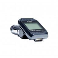 Modulator FM Tuadia DISCO, functie MP3 player, ecran LCD, slot SDHC, USB, Telecomanda, Line-in