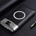 Acumulator extern POWERZILLA W11K 11000mAh Power Bank cu Display , Wireless Powerbank