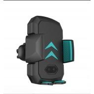 Incarcator & suport auto Powerzilla CW77, car automatic sensor,fast wireless chargers 10W , prindere grila ventilatie