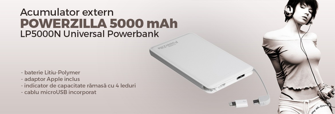 LP5000N Universal Powerbank