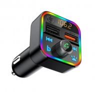 Modulator FM, Bluetooth 5.0 Tuadia BT22Q, USB incarcare rapida Quick charge 3.0